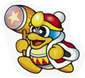 SSBB King Dedede sticker