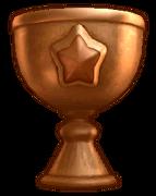 KDCol Trophy artwork bronze