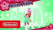 DLC de Kirby Star Allies - Adeleine & Ribbon (Nintendo Switch)