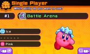 Ice Kirby Battle Royale