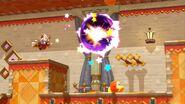 Taranza throws an giant dark energyball