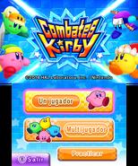 Combates Kirby Título