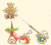 Kirby 64 ending artwork