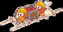 Pupupu Train Mine Cart