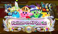 All Platinums (Team Kirby Clash DX)