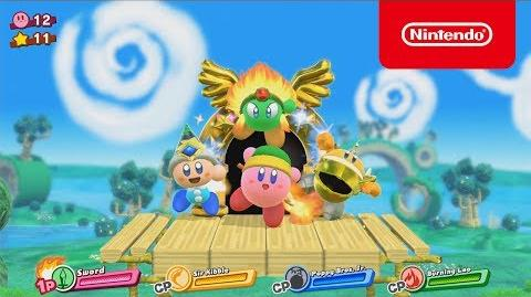 星のカービィ for Nintendo Switch (仮称) トレーラー E3 2017