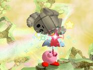 Parasol Golem Kirby Wii