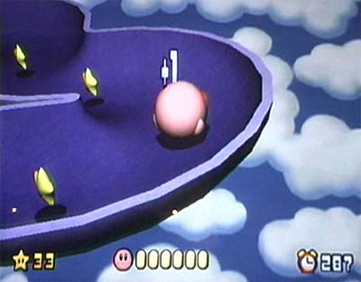 Kirby Tilt 'n' Tumble 2