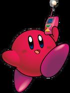 KirbyRojoConCel