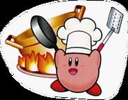 SSBB Cook Kirby sticker
