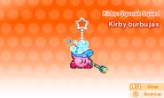 Kirby burbujas