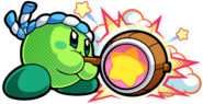 KBR Green Hammer Kirby Artwork