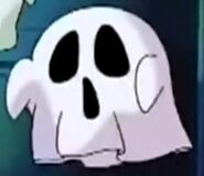 Kirby as Fake Ghost