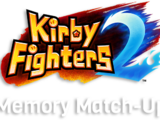 Kirby Fighters 2 Memory Match-Up