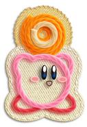 Kirby cogiendo objeto-enemigo (KEY)