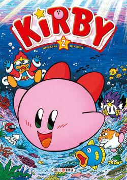 Premierecouverture KirbydanslesEtoiles Tome2.jpg