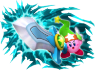 Kirby's Return to Dream Land Artwork Kirby Super Espada