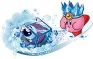 Ice-Kirby-Schatten bedrohen Traumland