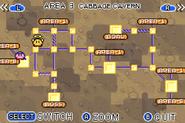 Cabbage Caverns Map