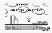 Green Greens Kirby's Dream Land