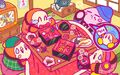 Kirby 25th Anniversary artwork 8