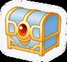 SSBB Treasure chest sticker