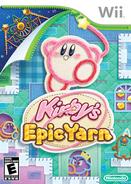 Kirby's Epic Yarn box art