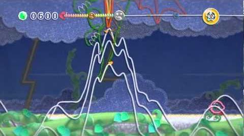 Gameplay - Kirby's Epic Yarn (Dragon Boss)
