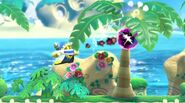 Magolor attacking with dark energy balls 2