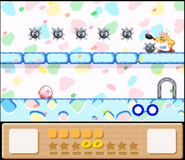 Kirby Dream Land 3 Mini Game Gordo 5