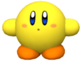 KRtDL Yellow Kirby Model
