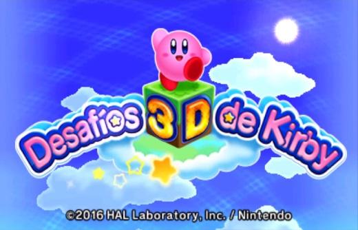 Desafíos 3D de Kirby