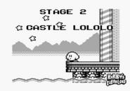 Castle Lololo Kirby's Dream Land