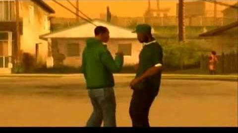 GTA San Andreas - Music Video (CJ Rap)