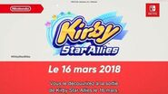 Kirby Star Allies le 16 mars Nintendo SWITCH