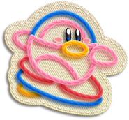 Kirby Pinguino Surfeador Artwork (KEY)