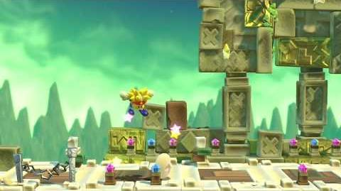 Kirby Star Allies Knuckle Joe Showcase