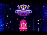 Space Oohroo Spaceship in Space
