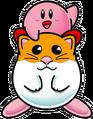 KDCED Artwork Kirby y Rick (KDL3)