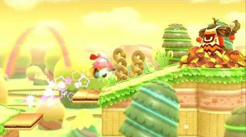 Kirby Star Allies Broom Hatter Showcase