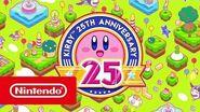 25e anniversaire de Kirby - Bande-annonce