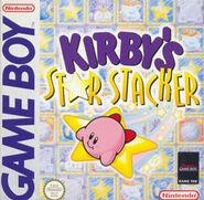Kirby's Star Stacker box art