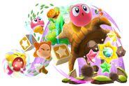 Kirby hípernova inhalando
