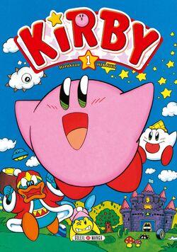 Premièrecouverture KirbydanslesEtoiles Tome1.jpg