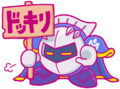 K25TH Meta Knight sign