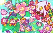 Kirby 25th Anniversary artwork 28