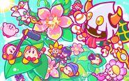 Kirby 25th Anniversary artwork 28