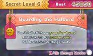 DDDD Boarding the Halberd secret