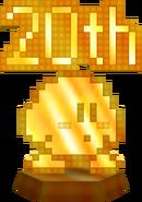 8-Bit Kirby Statue 20th Anniversary Ver. KDCSE