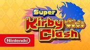 Super Kirby Clash – Bande-annonce de lancement (Nintendo Switch)